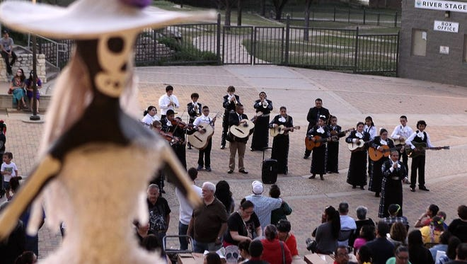 Thousands attended the second annual Día de los Muertos: Art After Dark festival hosted by the San Angelo Museum of Fine Arts in collaboration with Angelo State University on Thursday. Día de los Muertos - Day of the Dead - is a holiday celebrated Nov. 1 throughout Latin America and Mexico.