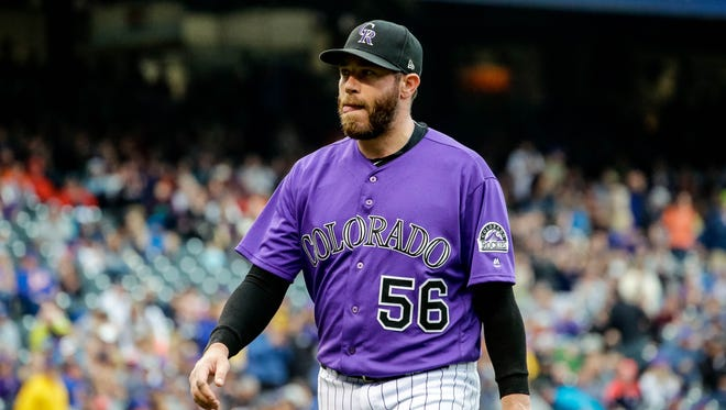 Greg Holland led the NL in saves last season with 41.