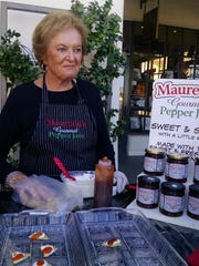 Samples of Maureen's Pepper Jam were available at Kitchen Kitchen's anniversary celebration last week.