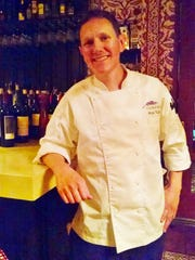 Nick Tall, executive chef at Purple Palm in Palm Springs.