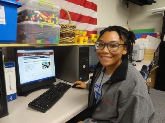 Jamillia McKinley attends David Thibodaux STEM Magnet Academy. She is participating in Lafayette Junior Leadership.