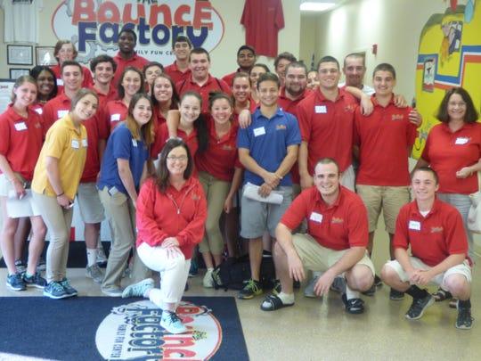 Bounce Factory employees learned what they could do to support children with autism on Monday.