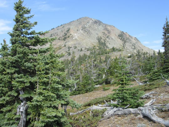 The hike up Elk Mountain is a rugged 3,300-foot climb.
