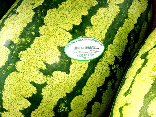 When you're looking for a genuine Cave City watermelon,