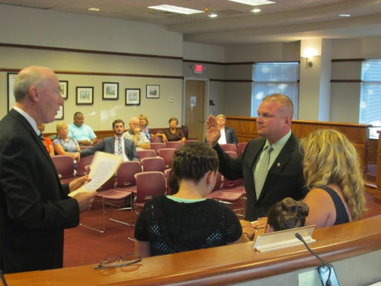 Councilman Cory Spiller - Swearing-In - 8-4-15
