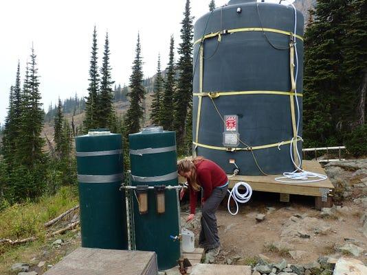 Granite Park water tank