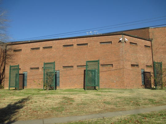 The current Cheatham County Jail.