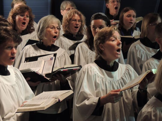 St. John's Choir will perform during the
