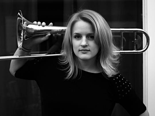 Trombonist Melissa Gardiner will be among those performing