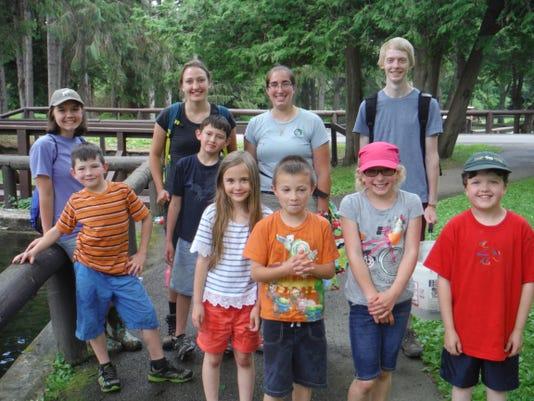 6-2, Summer Adventure Campers