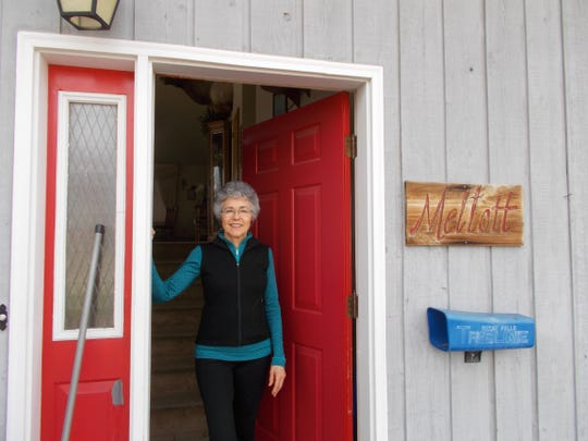 Sharon Mellott, 67, of Conrad, is a gracious hostess and holds a Sunday dinner each week for a variety of guests.