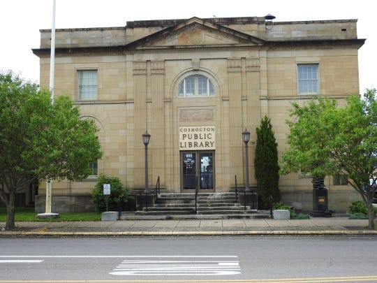 The Coshocton Public Library.