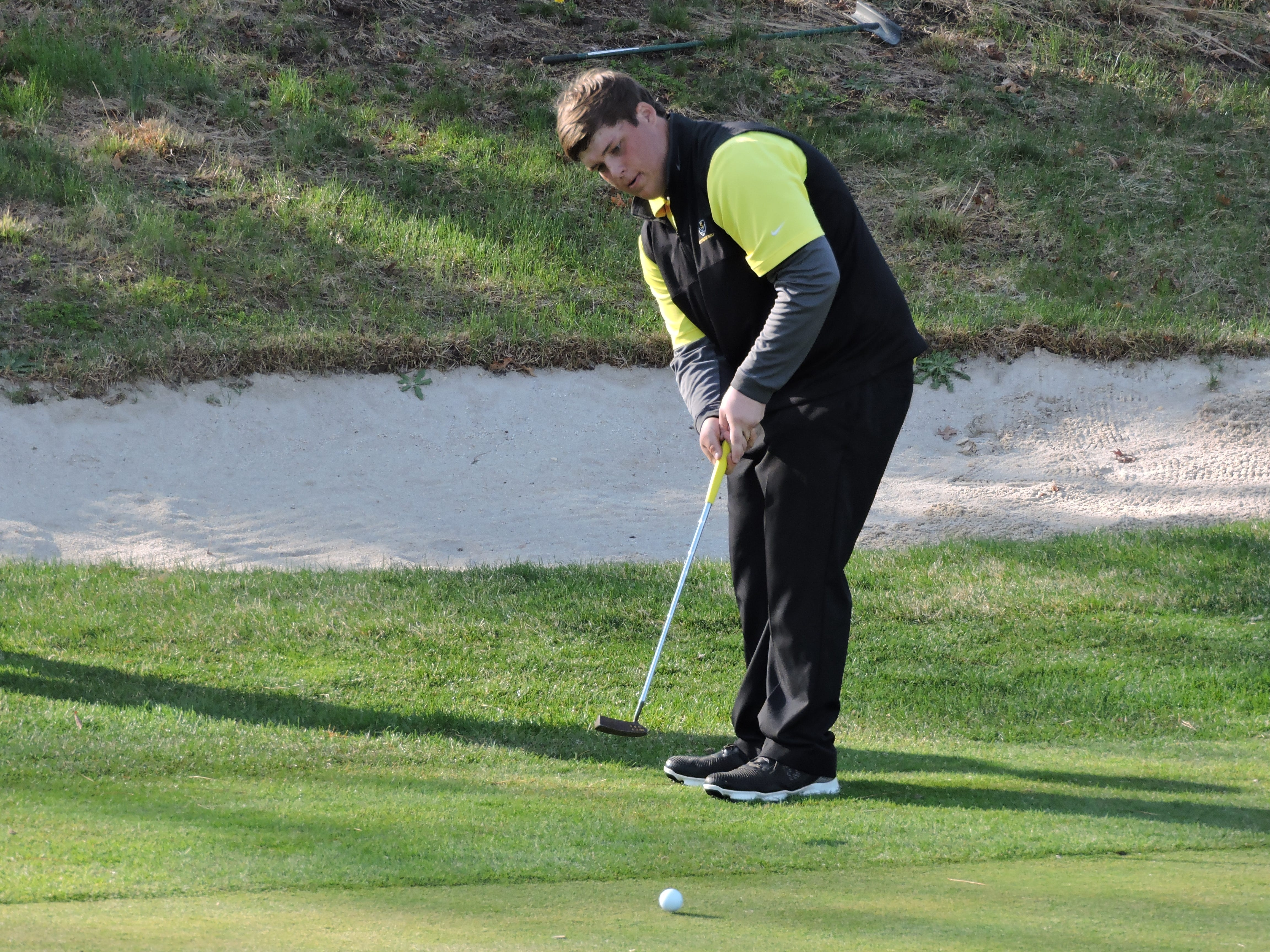 Southern's Jackson Fiel captured his thrid straight Ocean County Tournaemnt title on Monday at Sea Oaks Golf Club in Little Egg Harbor, while leading the Rams to the team title.
