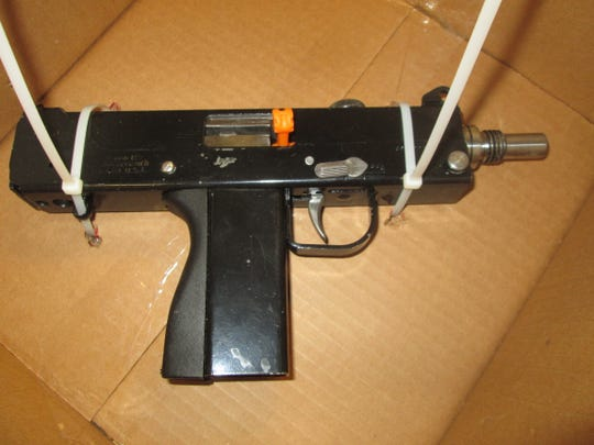 This gun was recovered in Monday's reported carjacking in Roseville.
