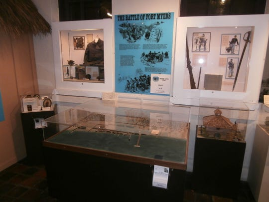 """""""Florida in The Civil War"""" continues at Southwest Florida Museum of History thru April 4 at 2031 Jackson St., Fort Myers. 10 a.m. to 5 p.m., Tues.-Sat."""