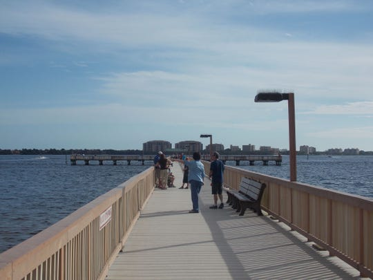 Extensive rehabilitation was conducted in 2006 and 2007 after Hurricane Charley. Concrete reinforcing of the piles and plastic boards were added, new fish-cleaning stations were installed and several benches were placed strategically along the length of the pier.