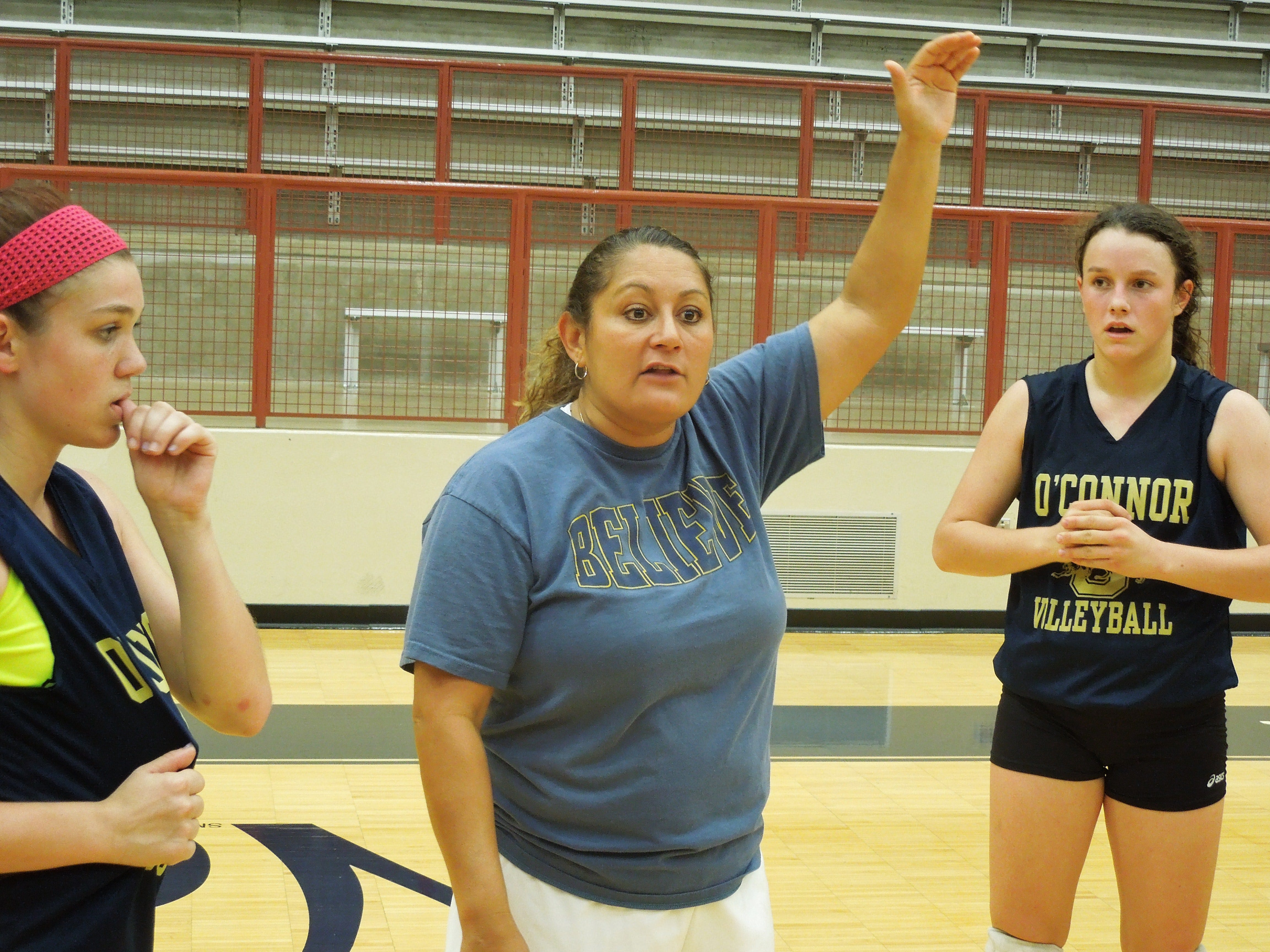 Yamilet Garcia, the only head volleyball coach O'Connor has had since it opened in 1998, has led the Panthers to the playoffs in 15 of the past 16 seasons.