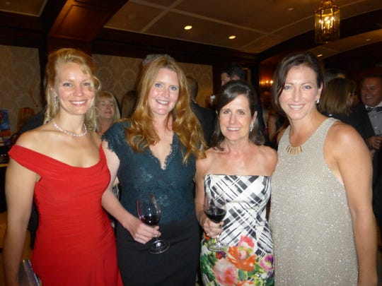 (From left) April Wagner of Franklin, Amy Ragheb of Birmingham, Corporate Sponsor Jennifer Farber of Bloomfield Hills and Stephanie Harvey of Bloomfield Hills.