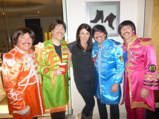 The Beats got the Imerman Angels partiers dancing all night long and Megan Dimmer of Birmingham enjoyed the festivities.
