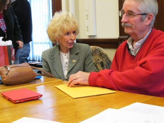 Union County Council members Pat Gentry and Dannie Witter.JPG
