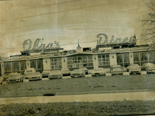 The famous Olga's Diner on Rt 70 in Marlton, NJ.