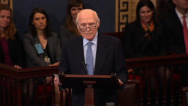 Former U.S. Sen. Herb Kohl, D-Wis., retired from the Senate in January 2013.