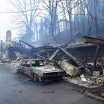 Extent of Tennessee fire damage comes into grim focus