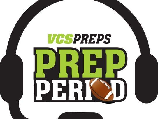 Prep Period logo white
