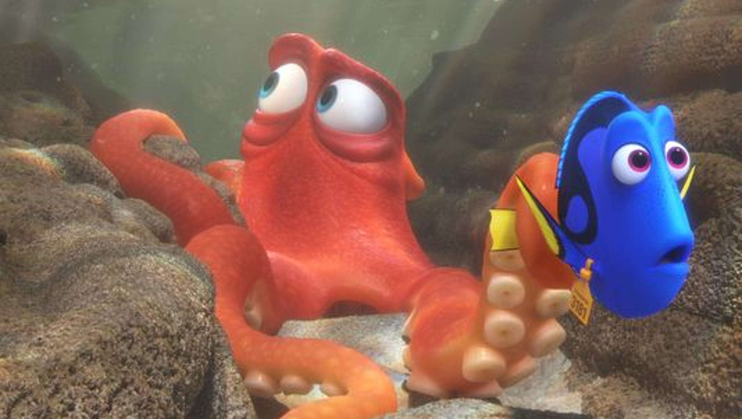 Pixar s Finding Dory Blu ray bubbling with extras