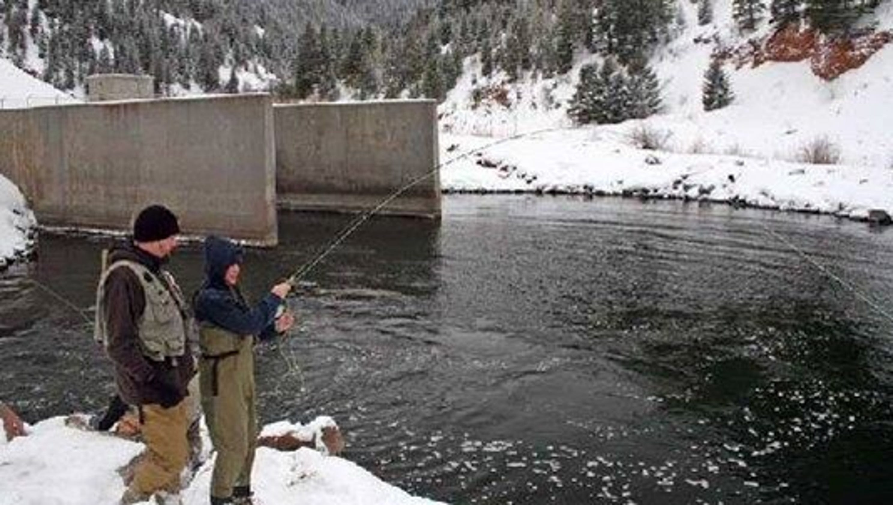 You Can Catch Monster Fish At The Colorado Quot Toilet Bowl