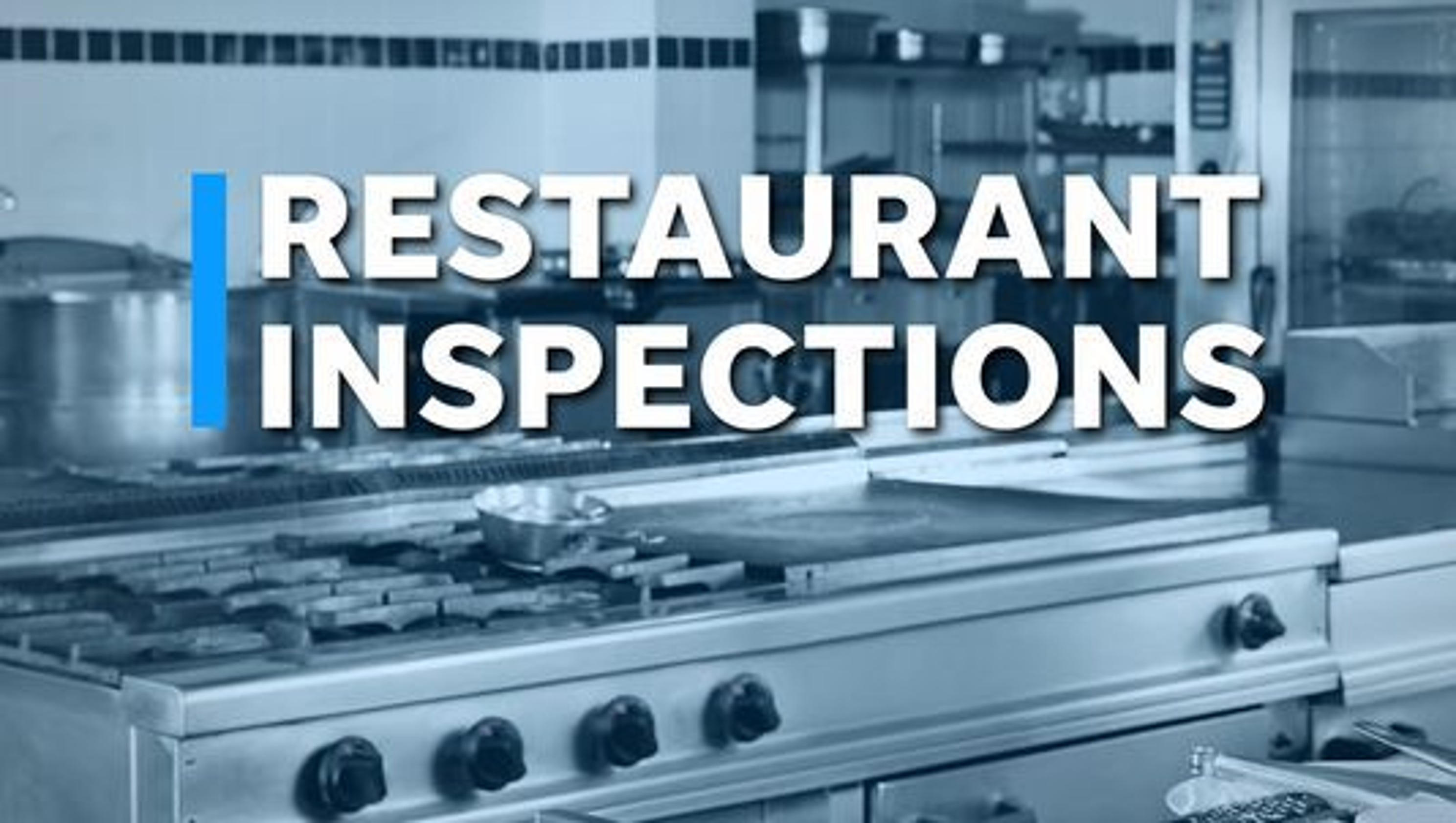 York County restaurant inspections show five not in compliance