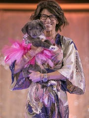 A photograph taken during the Nevada Humane Society's third annual Heels & Hounds at the Atlantis Resort and Spa in Reno on April 9, 2017.