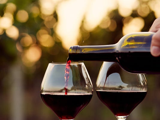 STOCK - Wine