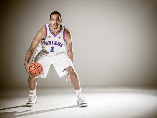 Saturday, April 5th, 2014, Mr. Basketball,, 2014, Trey Lyles, 18, from Arsenal Technical High School.