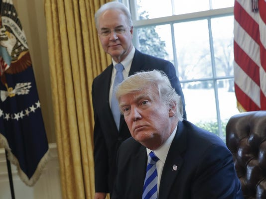 Donald Trump,Tom Price