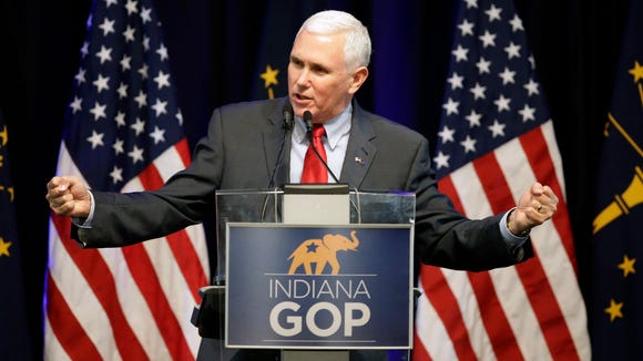 GOP vice presidential candidate Mike Pence is in good