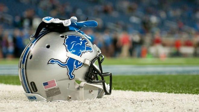 Lions helmet.