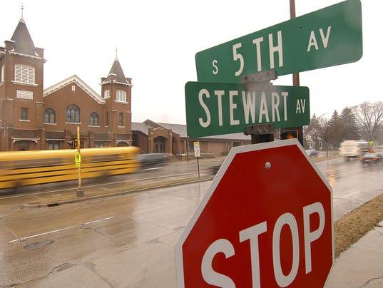 Stewart Ave.