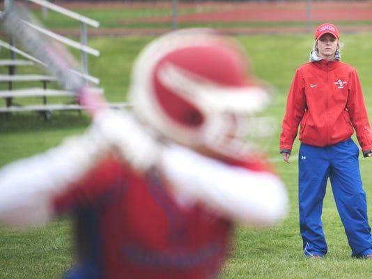 coach Shayla Giosia