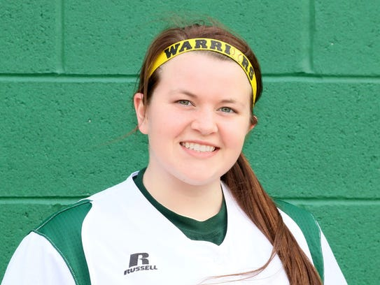 Mardela's Kalie Adkins struck out 12 in a no-hitter