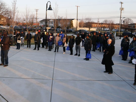 Crime victims and survivors candlelight vigil at  Wednesday,