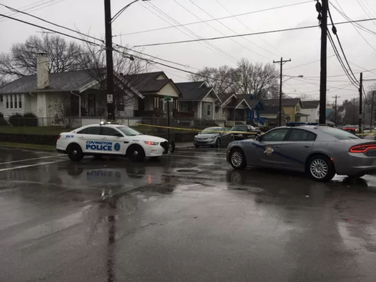 KSP investigating an officer-involved shooting on Decoursey Avenue in Covington.