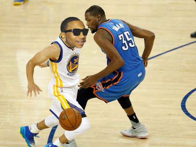 3434c3ed34a Lil B has had his hand in at least three NBA postseasons.