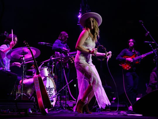 Margo Price opens for Chris Stapleton during his All