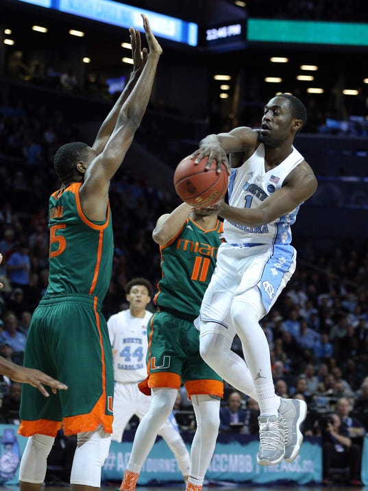 NCAA Basketball: ACC Conference Tournament-North Carolina vs Miami