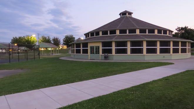 CFJ Park in Johnson City Tuesday