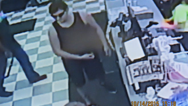 MCSO says this is a person of interest they want to talk to about the theft of a car.