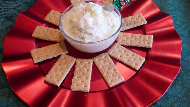 If you're looking for something different to serve this holiday, try my  Lime Coconut Dessert Dip. It's sweet, tart, easy and delicious.