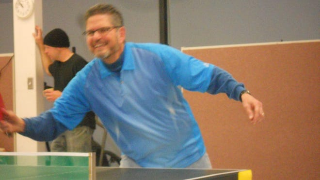 Thirteen participants vied for the victory at the 2015 Holiday Ping Pong tournament at the Ruidoso Senior Center.