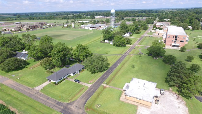 LSUA can be seen in this photo taken by an LSU AgCenter drone.
